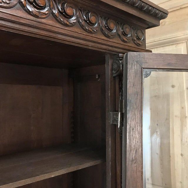19th Century French Louis XVI Neoclassical Bookcase For Sale - Image 11 of 13