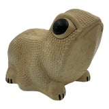 Image of Vintage Chalkware Frog Bank For Sale