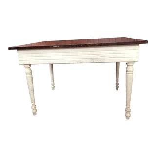 Antique French Farmhouse Table For Sale