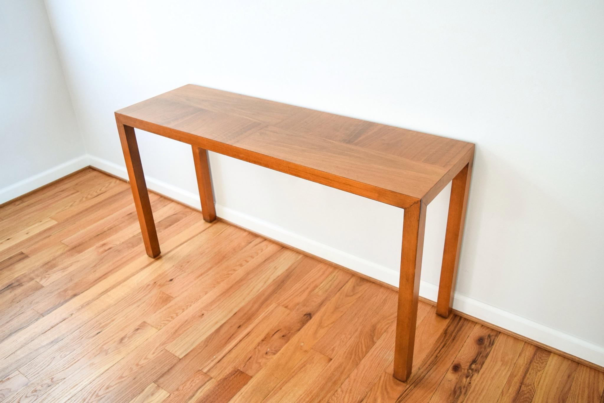 Merveilleux Mid Century Vintage Lane Sofa Console Table   Image 3 Of 9