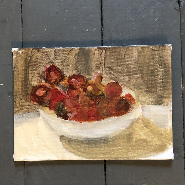 Contemporary Original Contemporary Impressionist Still Life Study Paintings 3 Gallery Wall Collection For Sale - Image 3 of 6