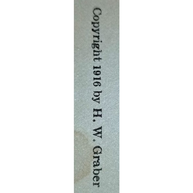 Green The Life Record of Hw Graber Texas Ranger Dedicated First Edition For Sale - Image 8 of 10
