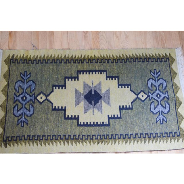 Handmade Vintage Kilim Rug - 4′4″ × 2′6″ For Sale In Washington DC - Image 6 of 13