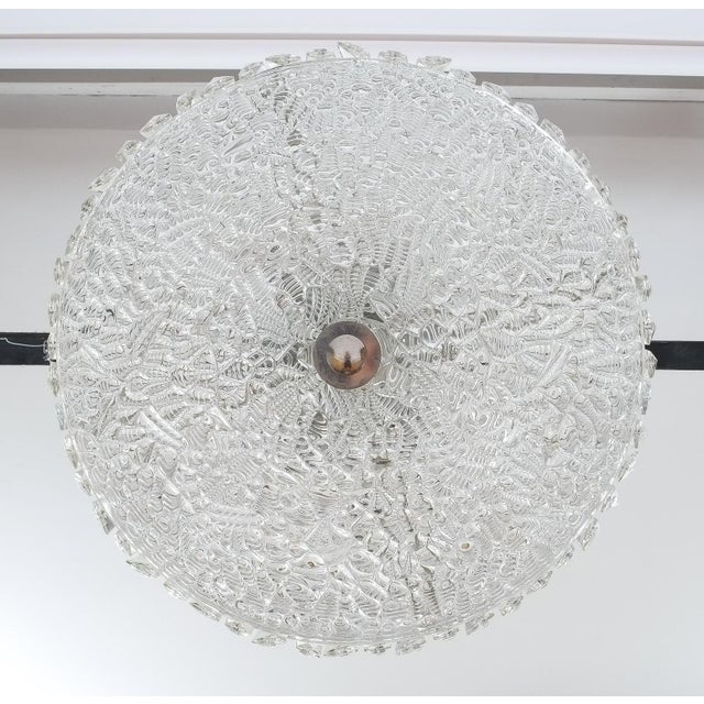 Beautiful Bakalowits Dome Crystal Glass Chandelier For Sale - Image 6 of 8