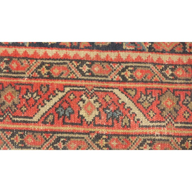 "Antique Persian Malayer Runner Rug - 15'5"" x 3'2"" - Image 3 of 4"