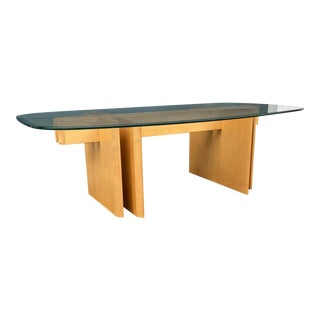 Vintage Trekanten Rounded Rectangular Coffee Table For Sale