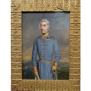19th Century Oil Painting, Portrait of an Austrian General Preview