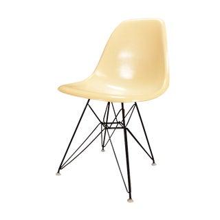 Vintage Charles Eames for Herman Miller Mid Century Modern Fiberglas Chair Dfsr