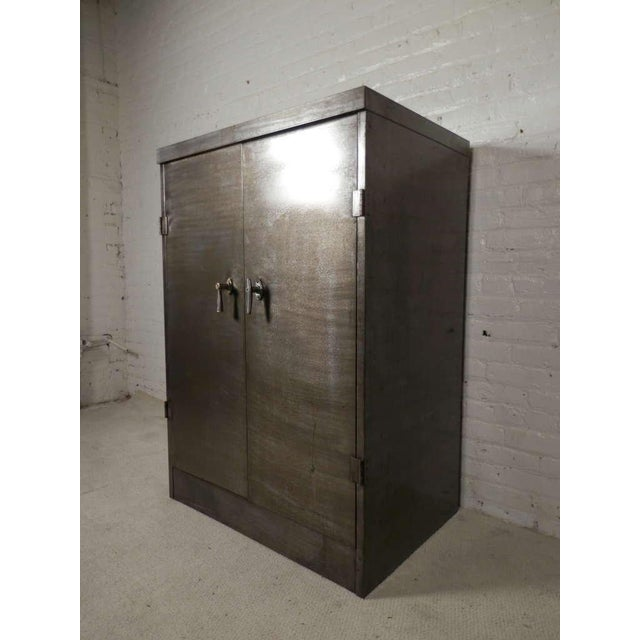 Heavy Duty Industrial Metal Cabinet For Sale - Image 9 of 9