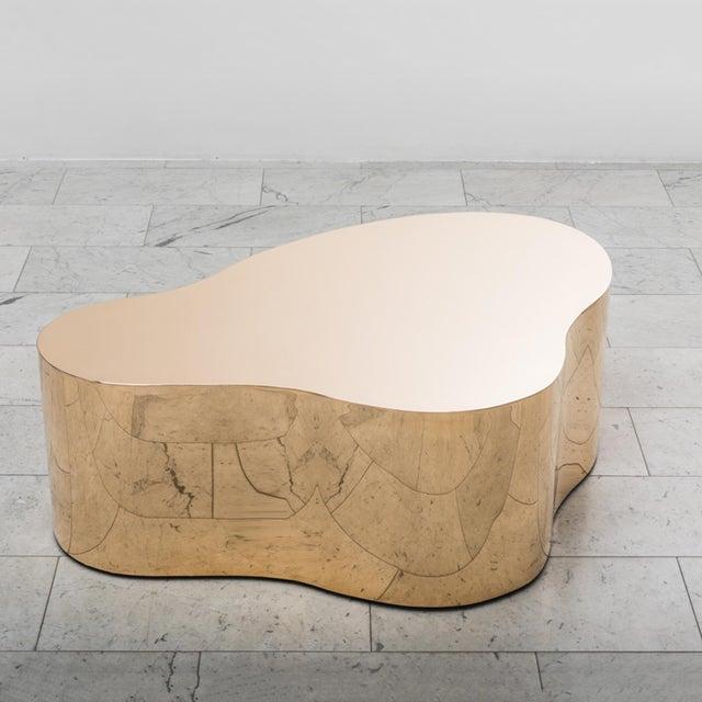 """Karl Springer LTD, Bronze Free Form Low Table """"C"""", USA, 2016 For Sale - Image 13 of 13"""
