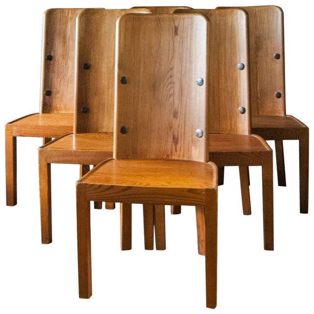 "Set of Six ""Lovo"" Chairs by Axel Einar Hjorth For Sale"