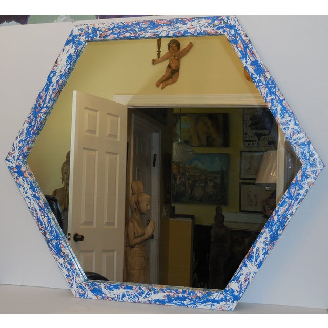 Artistic Six Sided Mirror - Image 10 of 11