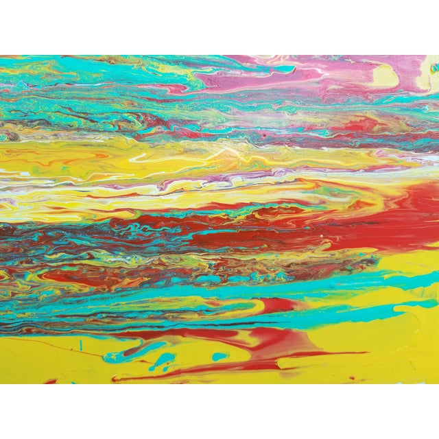 Contemporary Abstract Expressionist Painting For Sale In Miami - Image 6 of 10