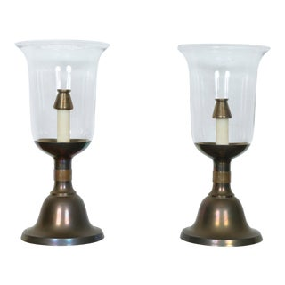 Sarreid Pair of Candle Holders For Sale