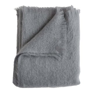 Mohair Throw in Dawn For Sale