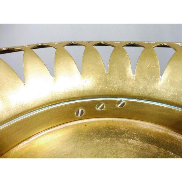 20th Century Neoclassical Bronze Tazza For Sale - Image 9 of 10