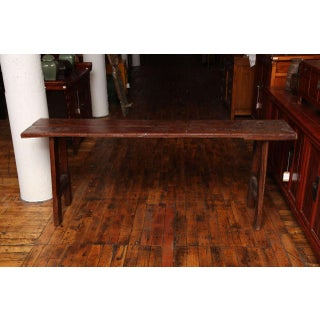Rustic Long and Narrow Javanese Wooden Table From the 19th Century Preview
