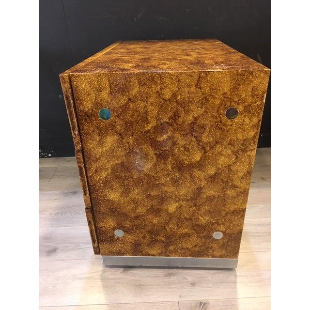 Brown Thayer Coggin Dresser/Chest Designed by Milo Baughman For Sale - Image 8 of 9
