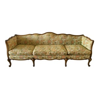 Vintage Mid Century Cocheo Bros. French Provincial Style Sofa For Sale