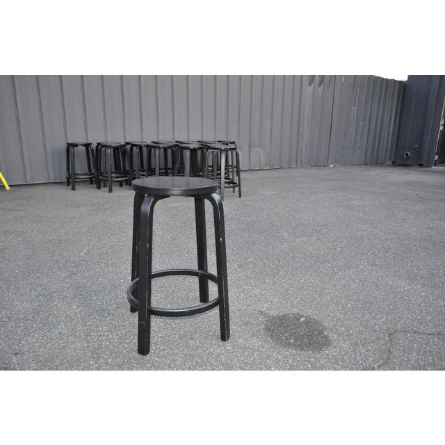 Artek Alvar Aalto for Artek Stools For Sale - Image 4 of 7