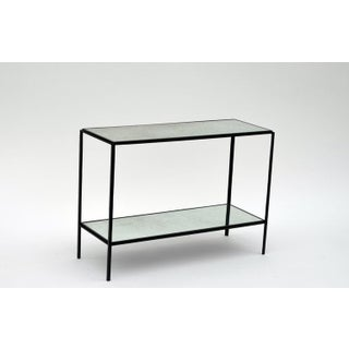 The 'Rectiligne' Narrow Mirrored End Table Preview