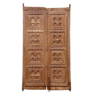 Antique British Colonial Entrance Doors