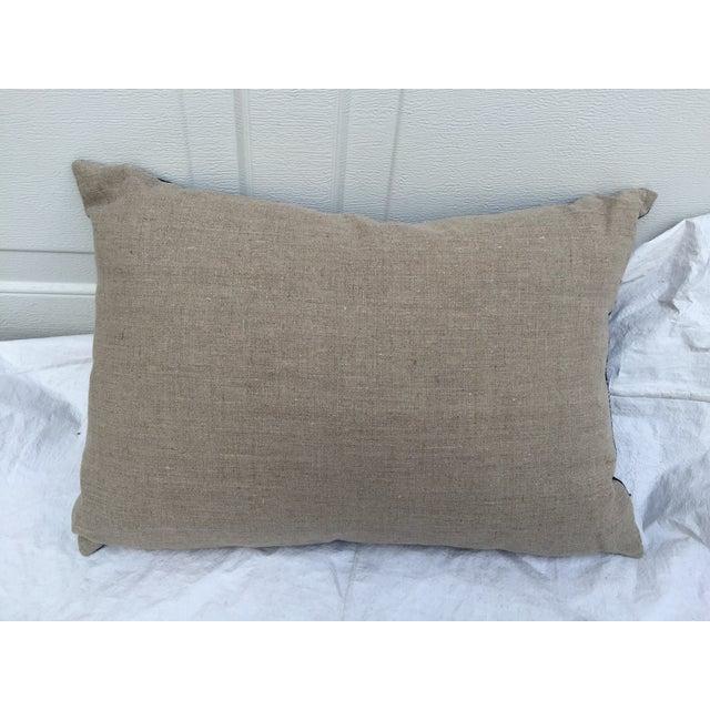 Indigo Batik Pillows- A Pair - Image 6 of 6