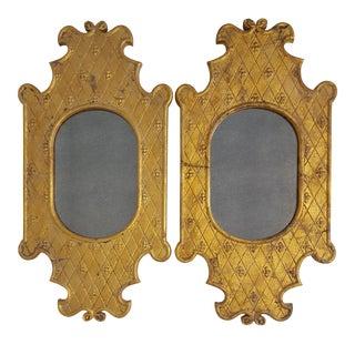 Antique Gold Mirrors - A Pair