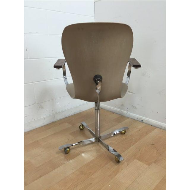 Mid-Century Gideon Kramer Ion Desk Chair - Image 5 of 11