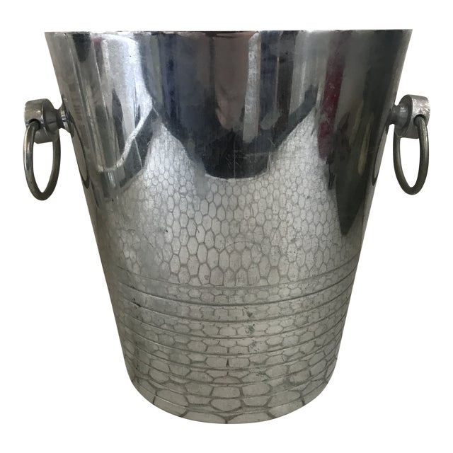 Vintage French Art Deco Andre Leroy Champagne Bucket For Sale