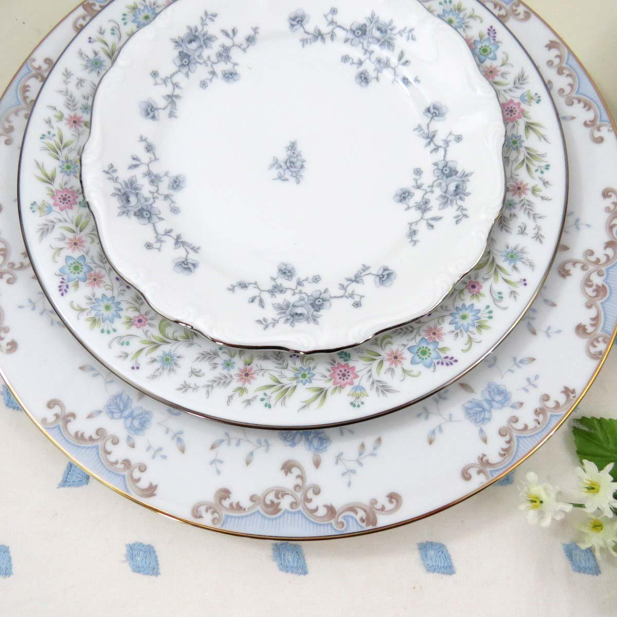 Vintage Mismatched Fine China Dinnerware Set - Service for 4 - Image 3 of 11  sc 1 st  Chairish & Vintage Mismatched Fine China Dinnerware Set - Service for 4 | Chairish