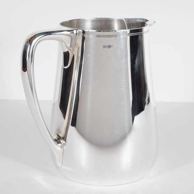 Silver Fine Tiffany and Company Sterling Silver Pitcher For Sale - Image 8 of 10