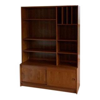 1960s Danish Modern Teak Cabinet For Sale
