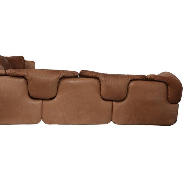 Mid-Century Modern Alberto Rosselli for Saporiti Sectional Sofa For Sale - Image 3 of 6