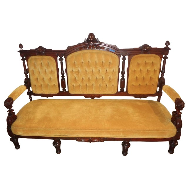 Edwardian Sofa For Sale