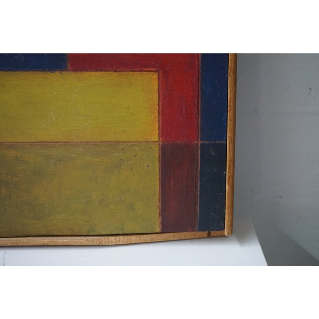1960s Mid-Century Abstract Painting For Sale - Image 5 of 7