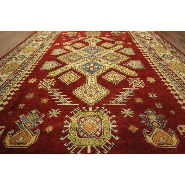 Oriental Super Kazak Rug - 8' x 12' - Image 5 of 11