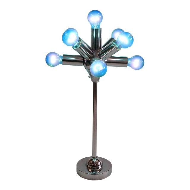 Late 20th Century Sputnik Table Lamp For Sale