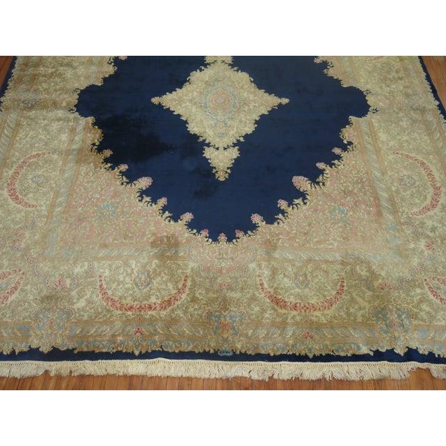Textile Vintage Kerman Rug - 10'4'' x 13'2'' For Sale - Image 7 of 10