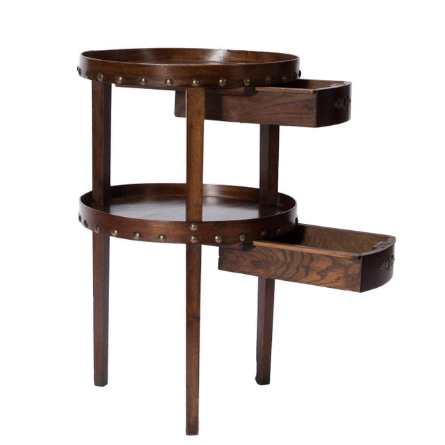 19th C. French Walnut Table - Image 3 of 6