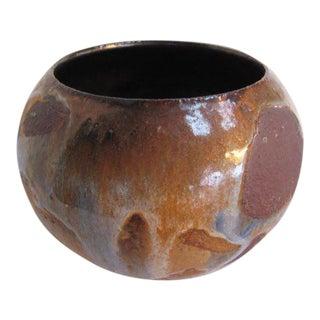 1960s Organic Modern Frans Wildenhain Ceramic Vase For Sale