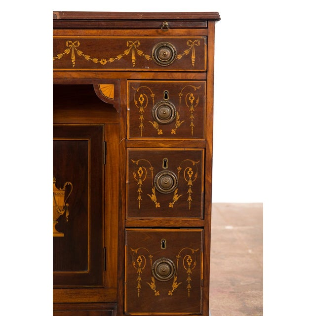 18th-Century Petite Georgian Inlaid Desk - Image 6 of 10