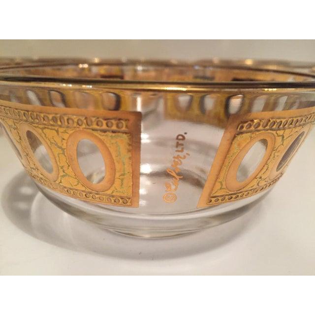 Culver Antigua 22k Gold Dessert Bowls - Set of 8 - Image 3 of 9