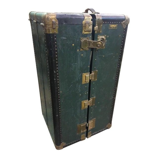 Antique Hartmann Wardrobe Steamer Luggage For Sale