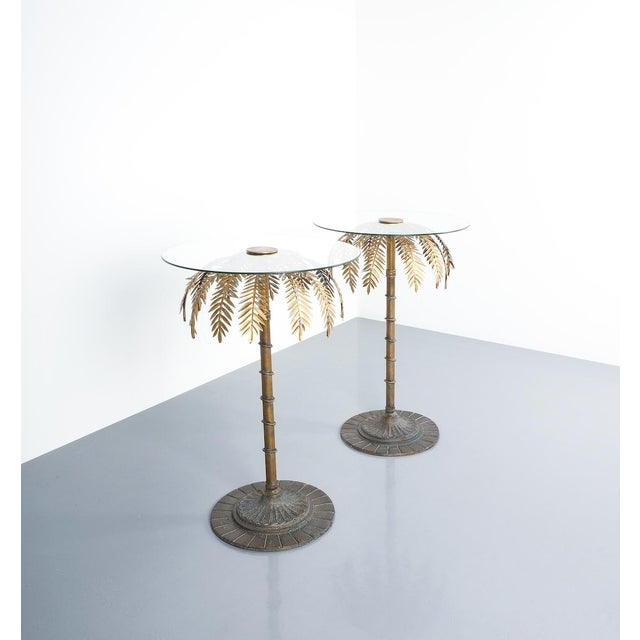 Maison Charles Iron Centre or Side Tables Style Maison Charles, Circa 1955 For Sale - Image 4 of 11