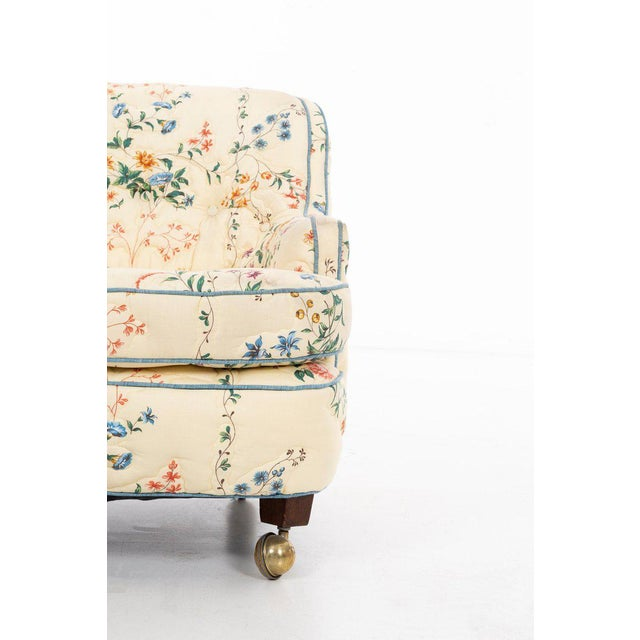 Gold Edward Wormley Pair of Chairs For Sale - Image 8 of 10