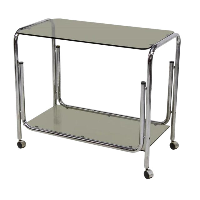Mid-Century Modern Drink Cart Server For Sale