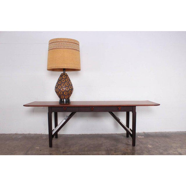 Dunbar Console or Sofa Table by Edward Wormley For Sale - Image 9 of 11