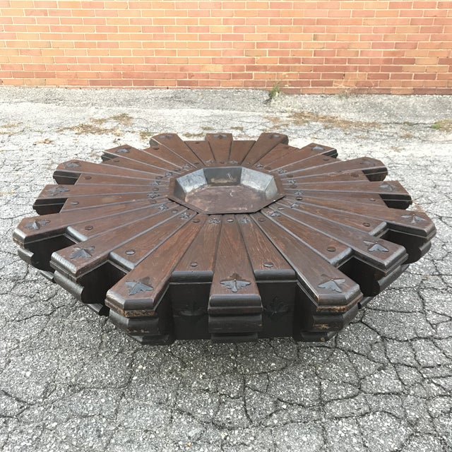 Monumental Spanish Revival Coffee Table For Sale - Image 12 of 12