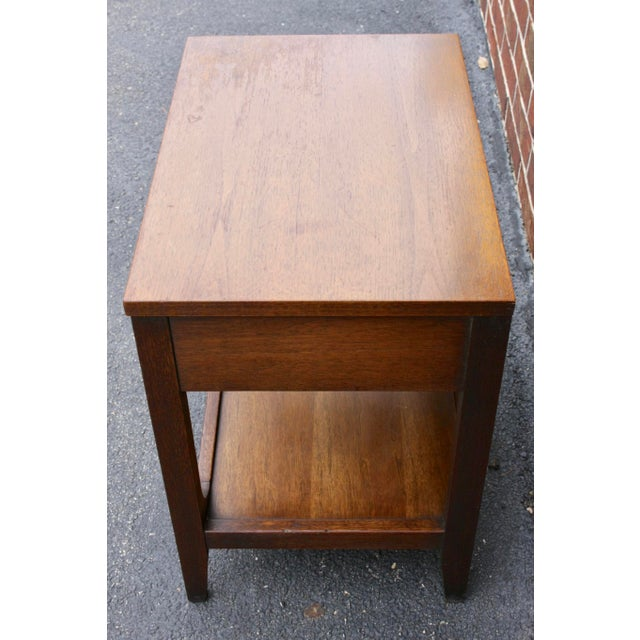 Broyhill Brasilia Nightstand or Side Table For Sale - Image 9 of 11